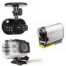 Dash & actioncams