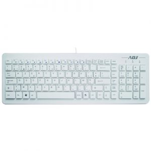 Toetsenbord ADJ TA150 Premium Multimedia Keyboard - USB - AZERTY - Wit