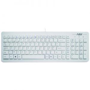 Toetsenbord ADJ TA150 Premium Multimedia Keyboard - USB - AZERTY - Wit