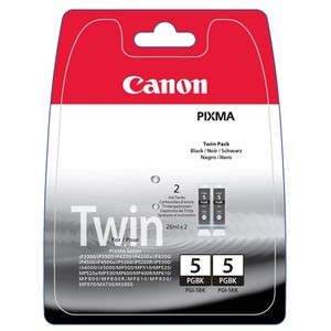 Inkt Canon PGI-520 Black - Twin pack (2x 19ml)