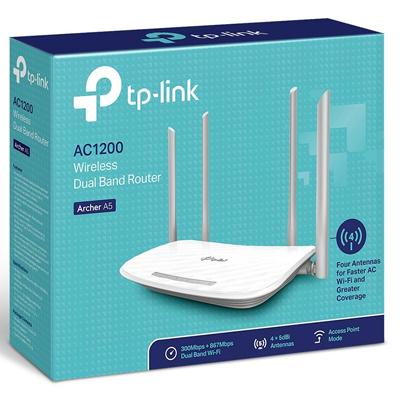 Netwerk Draadloze router TP-Link Archer A5 2.4/5Ghz 1200 Mbps
