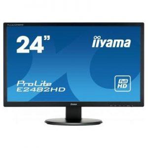 """Monitor IIYAMA 24.5""""FHD E2482 VGA / DVI"""