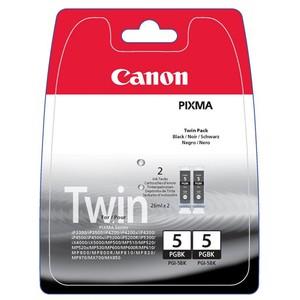 Inkt Canon PGI-5BK Twin Pack (2x 26ml - PGBK)
