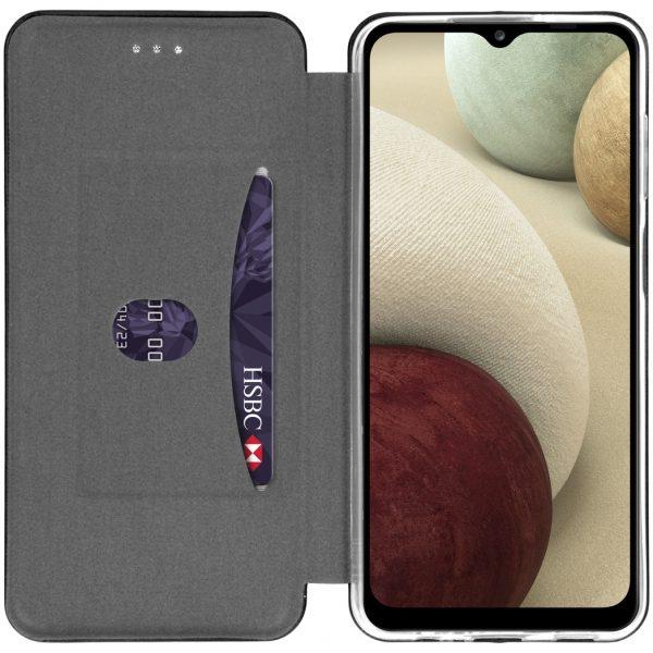 Slim Folio Booktype Samsung Galaxy A12 - Zwart