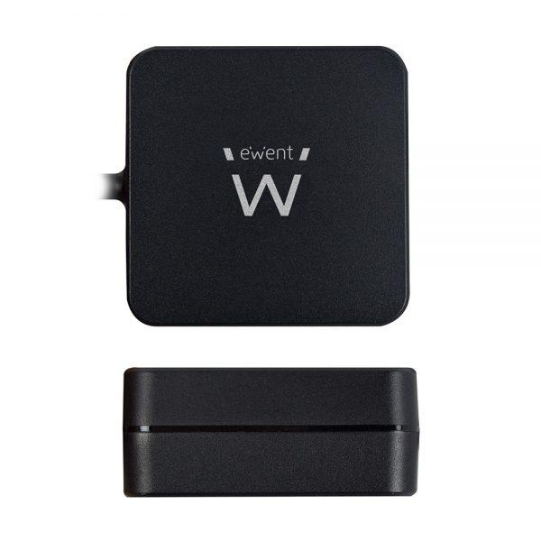 laptop voeding Ewent USB Type-C met PD profielen 65W