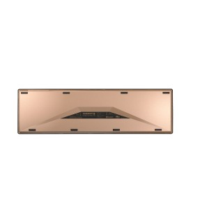 Muis/toetsenbord CHERRY DW 9000 SLIM KEYBOARD RF WIRELESS + BLUETOOTH AZERTY BELGIAN BLACK, COPPER