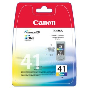 Inkt Canon CL-41 Tricolor (3x 4ml)