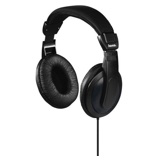 """Headset Hama Tv-koptelefoon """"Basic4TV"""", over-ear, eenzijdige, lange kabel, zwart"""