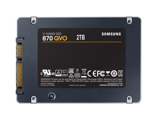 "SSD 2.5"" SAMSUNG 870 QVO 2TB"