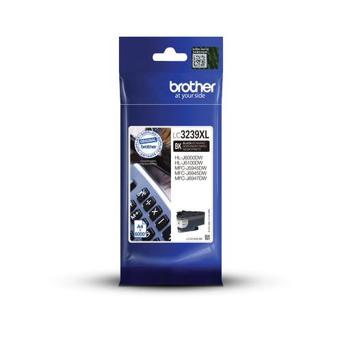 Inkt Brother LC 3239XL Zwart 6000p 5%