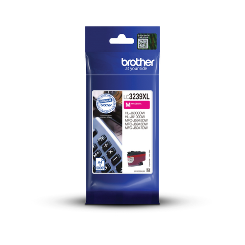 Inkt Brother LC 3239XL Magenta 5000p 5%