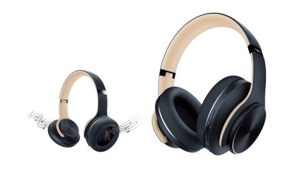 Headset ADJ Apache Bluetooth® Headset & Speaker 2 in 1 - Grey/ Ivory