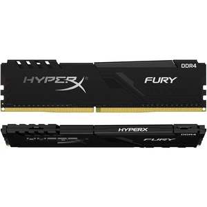 Geheugen DDR4 HyperX FURY 32 GB (2 x 16 GB) - DDR4-3200/PC4-25600 CL16 - 1.35 V - Non-ECC - Unbuffered - 288-pin - DIMM