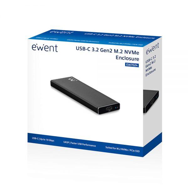 Harde schijf behuizing USB-C GEN2 M.2 SSD