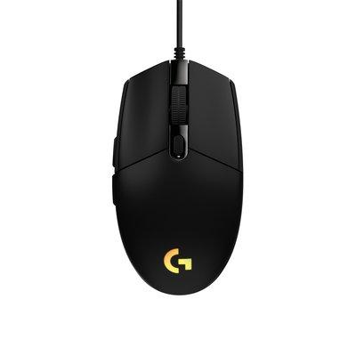 Muis Logitech g203 gaming black