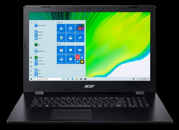 Laptop Acer 17.3 FHD i7-1065G7 12GB 512SSD+1TB Black DVD W10
