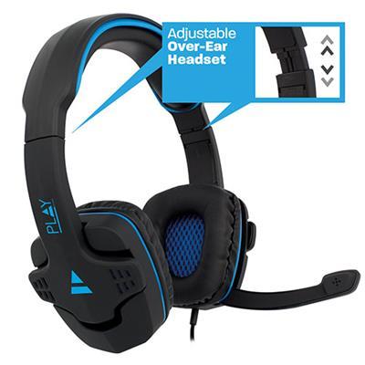 headset Ewent Play Gaming , 2x 3,5mm jack, 1,5 m PL3320