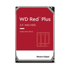 "Harde schijf 3.5"" WD Red plus Nas 4TB 128MB SATA/600"