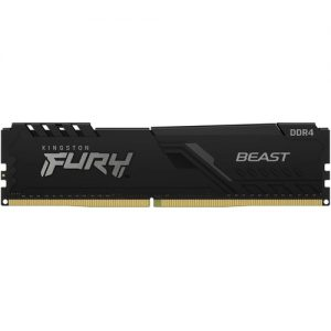 Geheugen DDR4 Kingston 8GB 3200MHz CL16 DIMM FURY Beast Black