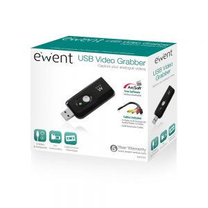 beeld omvormer Ewent Video Grabber, USB